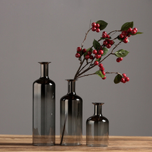 Creative glass vase  furnishing crafts flower terrarium containers for wedding decoration home