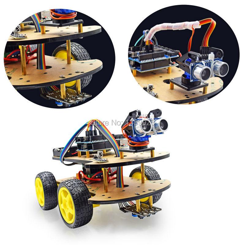 Multi-Functional 4WD Robot Car…