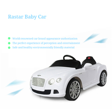 Rastar Children's Electric Car Four-wheeled Car With Remote Control Stroller Can Take Children's Battery Car