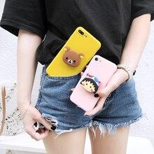 3D Rilakkuma case for iphone 5 S 6 7 8 plus X XR MAX