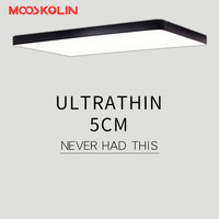 Mooskolin Modern Led Ceiling Lights For Living Room Bedroom Kitchen Luminaria Led Ultra Thin 5CM Hall