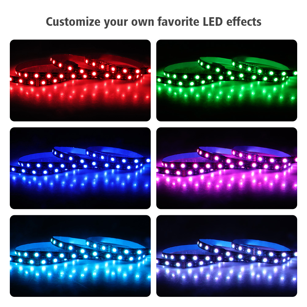 LED Strip Light RGB for 12V Motherboard Control PC Computer case 50CM 1M 2M with 4 LED Strip Light RGB for 12V Motherboard Control / PC Computer case 50CM 1M 2M with 4 Pin RGB-Header(+12V,G,R,B) Extension Wire