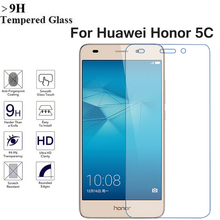 original Huawei Honor 5C glass tempered Hauwei Honor5c screen protector 5.2 inch 4G lte 2GB 16GB smartphone glass film