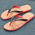 Louladi portátil eléctrica talla hombres CHANCLAS SANDALIAS en verano y otoño antideslizante plana con la tendencia zapatillas de playa casuales