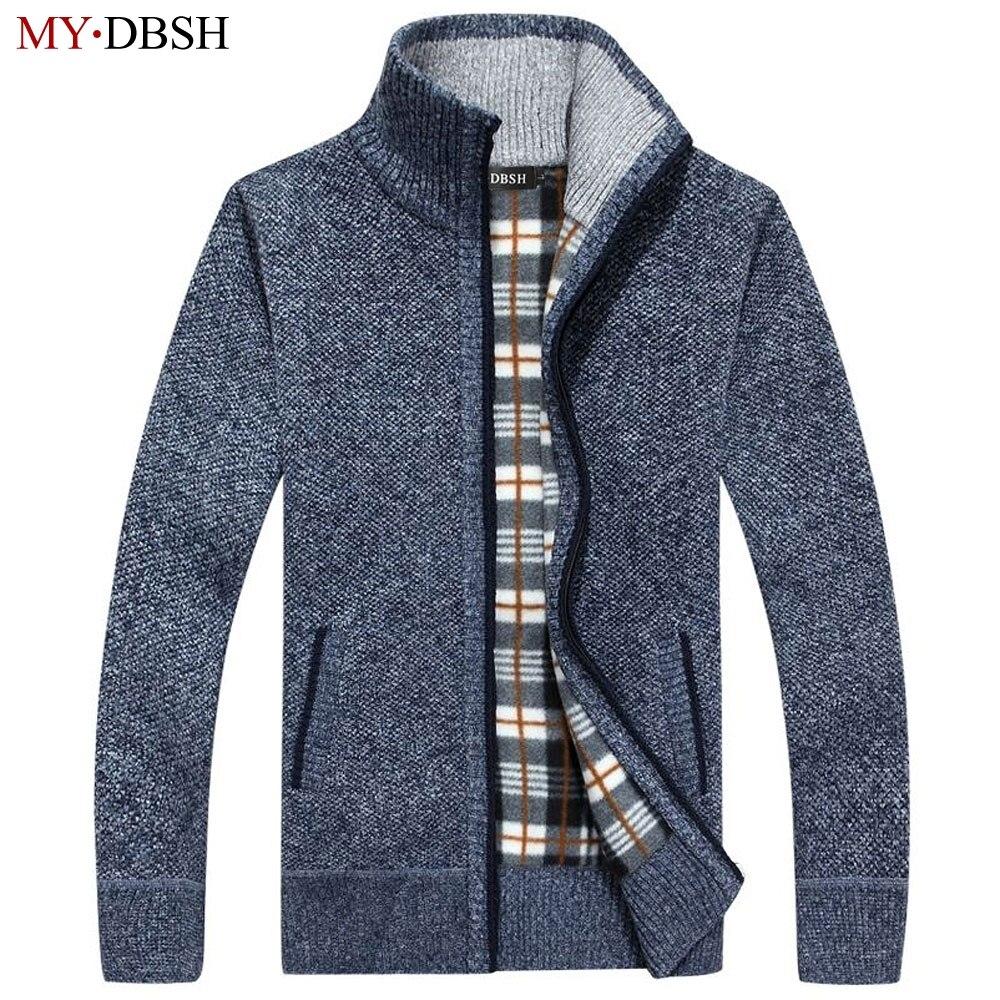 Popular Mens Fleece Cardigan Sweaters-Buy Cheap Mens Fleece ...