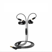 Moxpad X9 Pro Dual Dynamic Driver Professional In Ear Sport Headphone with Mic for Cellphone with retail box PK SE215