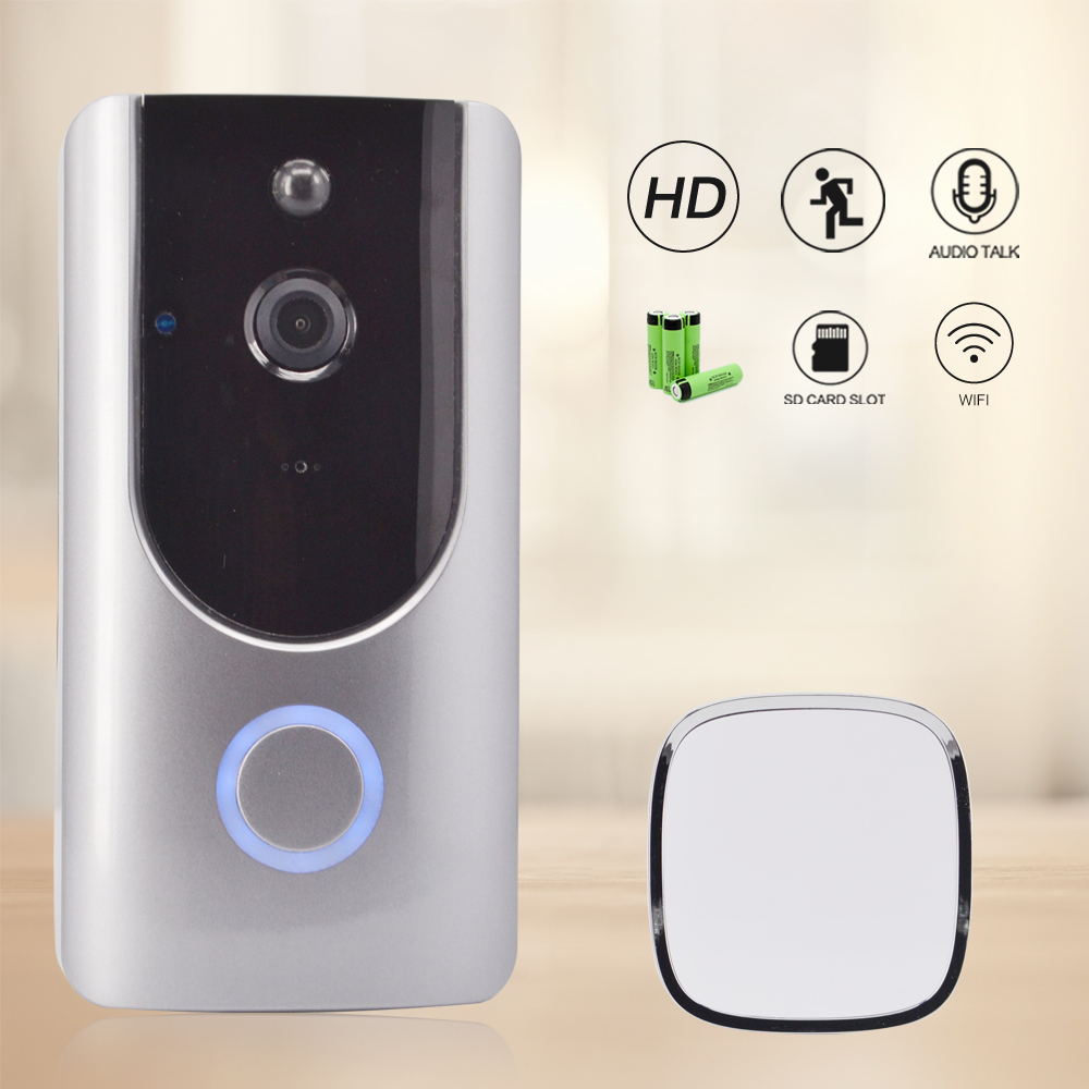 CTVMAN Wifi Video Door Phone IP Security Intercom For Home Digital Videos Door Bell Camera Two Way Audio Smart Wireless Doorbell xbox hd 1 channel mini dvr board 1ch car dvr motion detection car dvr