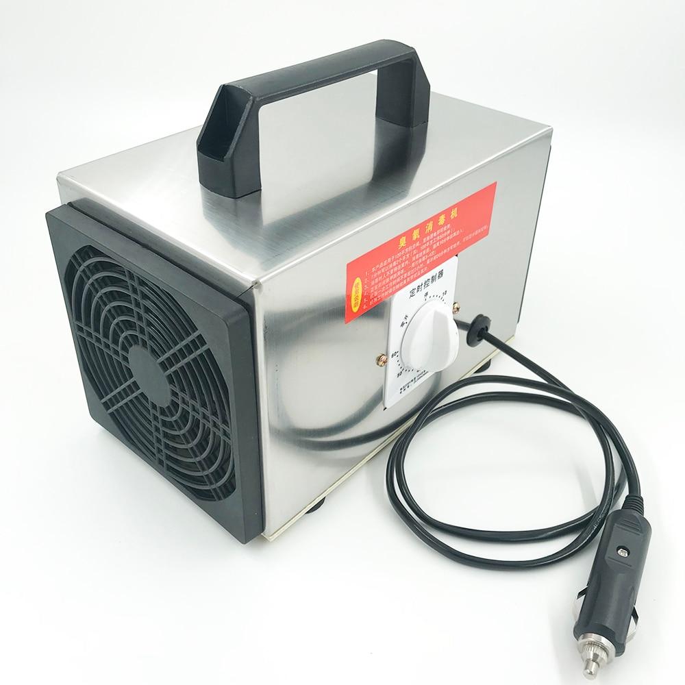 12V 10g h Car Ozone O3 generator ozonator machine air purifier deodorizer disinfection sterilizer