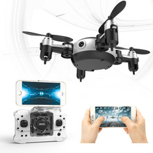 Mini Folding Remote Control Helicopter Mode Camera Drone RTF With HD Camera 2.4G 4CH Quadcopter Helicopter Drone Funny Toys Gift