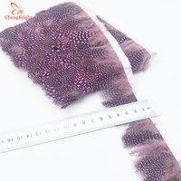 Chengbright al por mayor 10 yardas Pink faisán Plumas recorta ropa del Partido de la falda del vestido de boda decoración artesanía Plumas cinta DIY