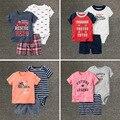 Высокое качество новорожденный набор Детская одежда, дети baby boy одежда, ropa roupa infantil bebes детские мальчики Досуг Одежда Наборы 3 шт.
