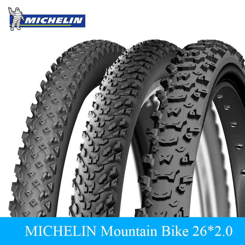 MICHELIN 26*2.0 Mountain Bicycle Bike Tire Tyre High Quality Rubber Bike Foldable Tire Wild Race Country Trail Outer Tire michelin pro4 service course bicycle tire
