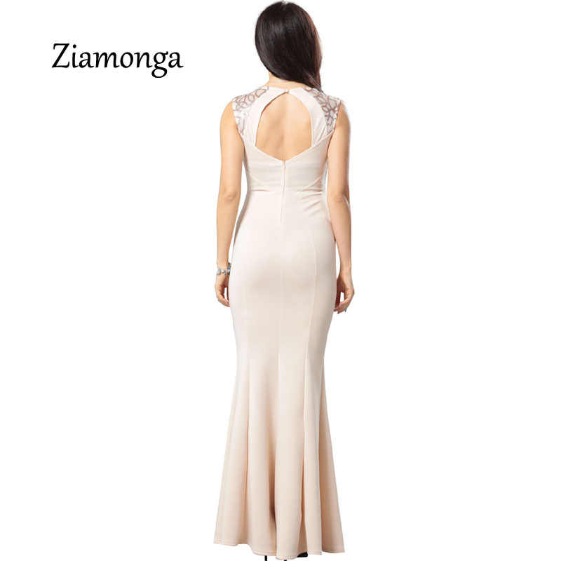 c634600819 Ziamonga Women Elegant Sequined Formal Evening Party Mother Of Bride  Special Occasion Dress Women Sexy Bodycon Long Maxi Dress