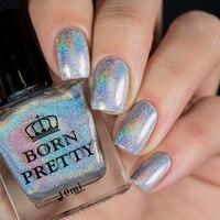 10ml BORN PRETTY High Ingredients Holographic Holo Glitter Nail Polish Super Shine Nail Art Vanish Shine