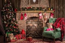 SHENGYONGBAO Vinyl Custom  Christmas theme Photography Backdrops Prop Photo Studio Background YHSHD-8012
