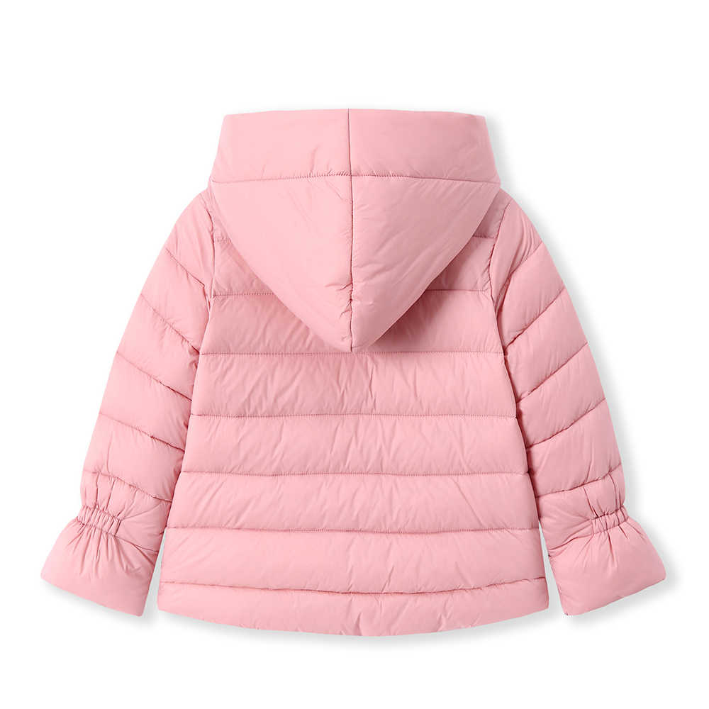 Balabala 2018 מעילי parka עבור בנות בני כותנה מעילי מודפס חורף חם בנות למטה מעיל ילדים בגדי כותנה ברדס