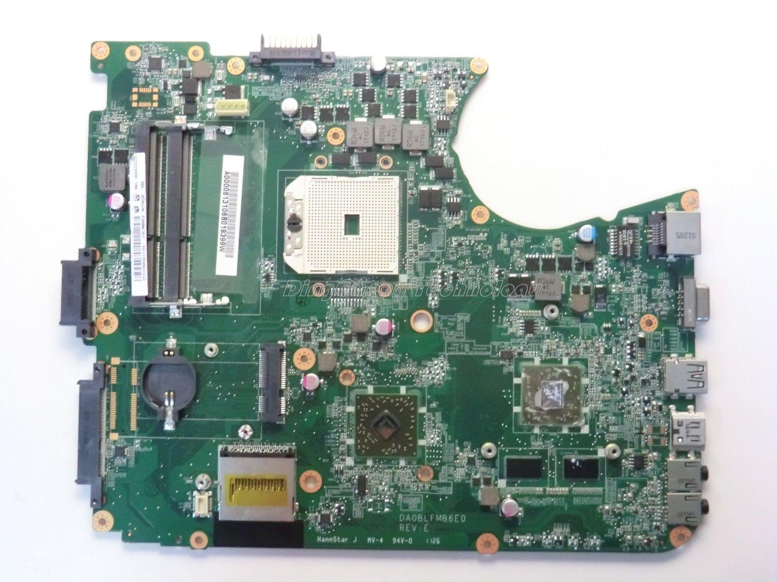 SHELI laptop Motherboard For Toshiba Satellite L750 L755 A000081310 DA0BLFMB6E0 DDR3 non-integrated graphics card 100% tested sheli laptop motherboard for toshiba satellite c75d da0bd9mb8f0 a000243970 ddr3 integrated graphics card 100% fully tested