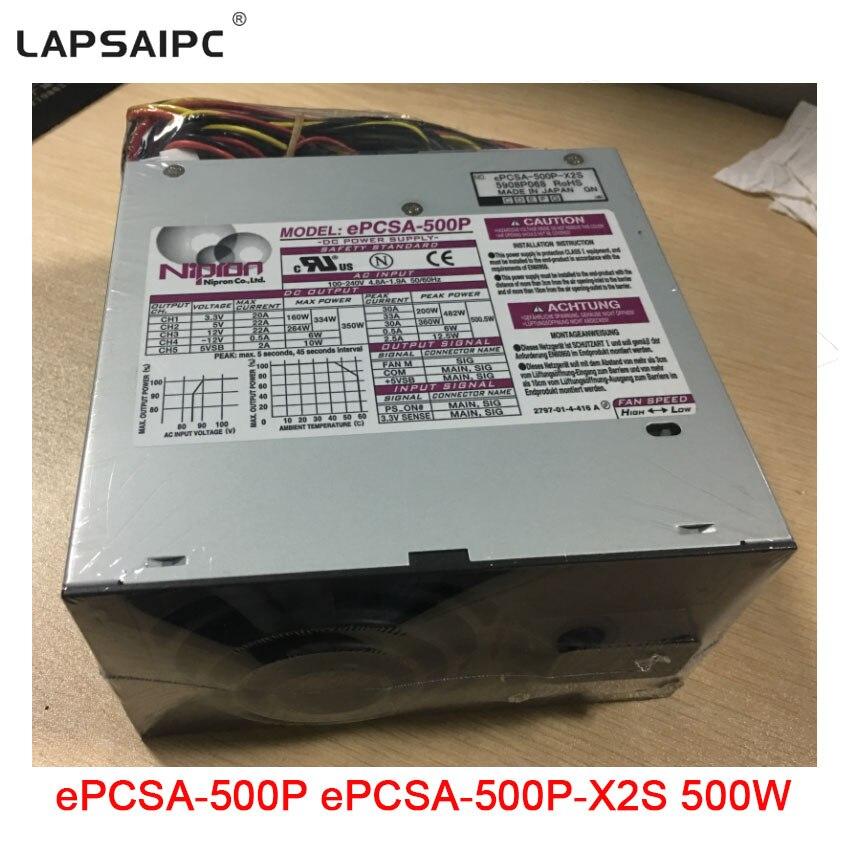 Lapsaipc ePCSA-500P ePCSA-500P-X2S serveur alimentation 500 W équipement médical DC adaptateur d'alimentation PSU bon prix en usine