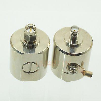 DHL/EMS 5 pcs surge protector Lightning Arrestor SMA plug M to jack F 0-3GHz DC-90V -d2