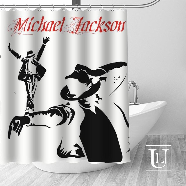 12 Shower Curtain Michael jackson shower curtain jackson galaxy 5c64f7a44ec73