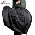 French Horn Gig Bag 600D Water-resistant Oxford Cloth Adjustable Single Shoulder Strap Pocket 5mm Cotton Padded