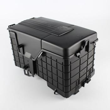TAIHONGYU boczne baterii tacy wykończenia obudowa do vw Jetta Golf MK5 MK6 Passat B6 B7 CC Tiguan Touran 1KD 915 443 tanie i dobre opinie 15cm 1KD 915 335 1KD 915 336 1KD 915 443 China 28cm ABS Plastic Battery Tray Cover