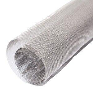 Image 5 - Mayitr 1 adet 304 paslanmaz çelik dokuma hasır filtrasyon #60 kumaş ekran filtresi 30x30cm