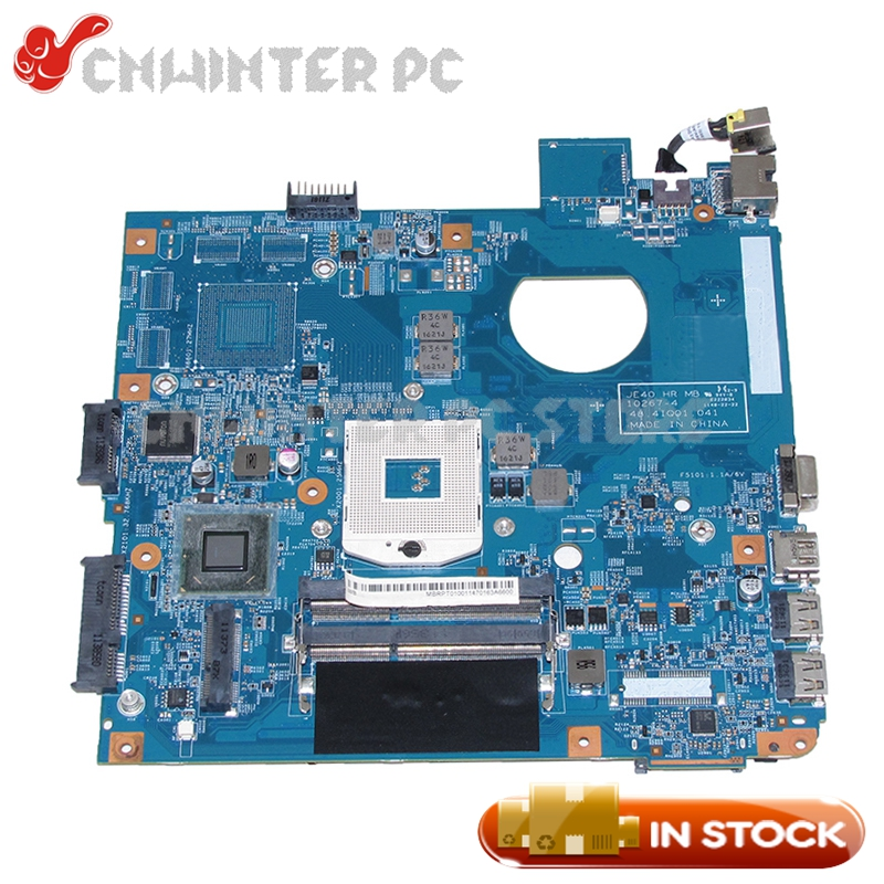 NOKOTION 48.4IQ01.041 MBRPT01001 MB.RPT01.001 For Acer aspire 4752 4755 Laptop Motherboard HM65 UMA DDR3 nokotion laptop motherboard for acer aspire 4752 4755 je40 hr mb 10267 4 48 4iq01 041 hm65 ddr3 mbrpt01001 mb rpt01 001