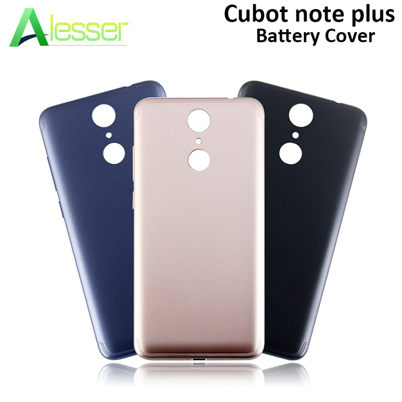 Alesser For Cubot Note Plus Battery Cover With Radiating Replacement Ultra Protective For Cubot Note Plus Phone Bateria Cover