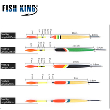 5Pcs/Set Outdoor Bottom Fishing Floats Set Buoy Bobber Fishing Stick Floats Fluctuate Mix Color Size For Fishing Accessories