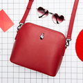 Kiitos Moment series original fashion fresh shell leather woman messenger bag