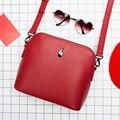 Série Kiitos Momento original moda fresco shell saco do mensageiro mulher de couro