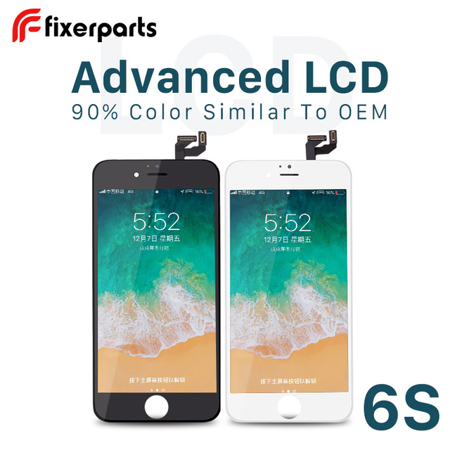 Fixerparts 1PCS Advanced For iphone 6s Display Touch Screen Digitizer Replacement Pantalla for iPhone 6s lcd