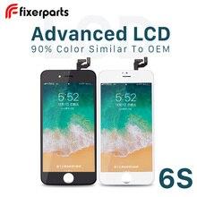 Fixerparts Pantalla avanzada para iphone 6s, digitalizador de Pantalla táctil, Pantalla lcd de repuesto