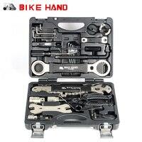 Outil de réparation de vélo à main 18 en 1 VTT Kit d'outils professionnel clé à rayons de réparation clé à pédale à roue libre pour Shimano|Outils de réparation de vélo| |  -