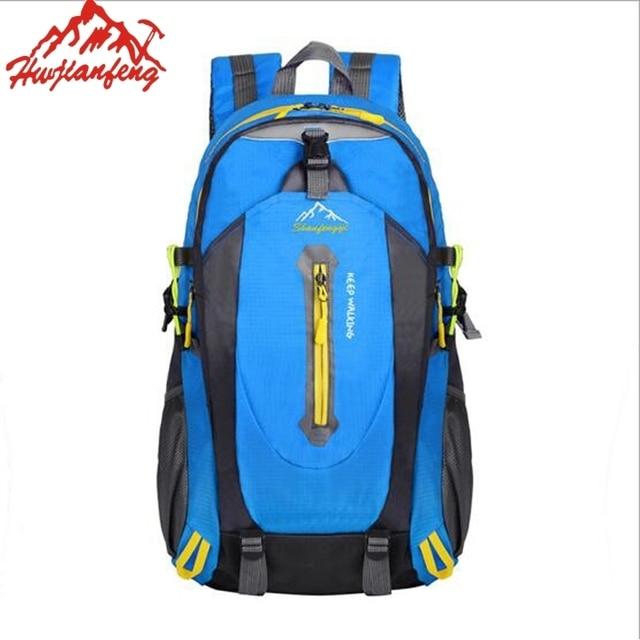 e86b888715db US $16.37 6% OFF|Lightweight Foldable Sport Small Traveling Hiking Backpack  Outdoor Women & Men Skin Bag Waterproof Nylon Rucksack-in Climbing Bags ...