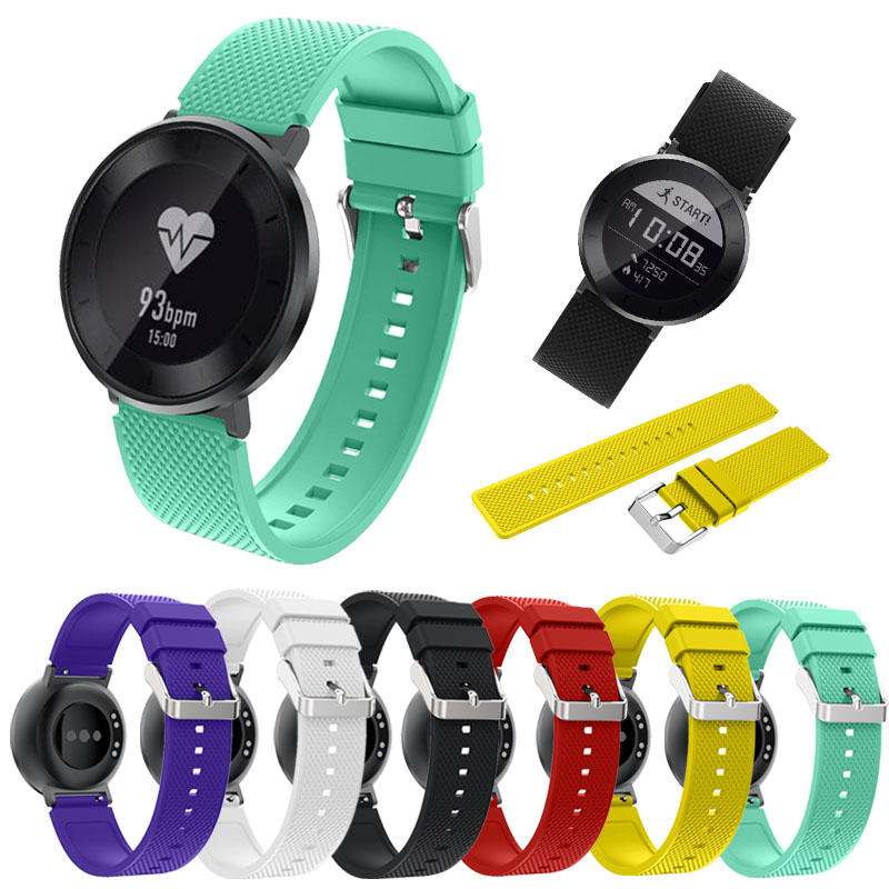 High Quailty Quick Release Silicone Rubber Watchband for Huawei Watch /Fit Honor S1 Watch Style Wrist Band Sports Strap