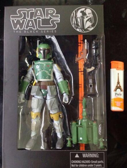 Movie Action Figure Star Wars Black Series 6 Boba Fett Darth Vader Kylo Ren Stormtrooper 6 inch Figuras Movie Kid Children Toy