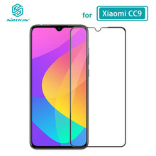מזג זכוכית עבור Xiaomi CC9E CC 9E Mi9 Lite Nillkin CP + פרו 2.5D מלא דבק סרט לxiaomi Mi 9 Lite זכוכית