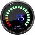 52 мм Ext датчик температуры кислородный датчик узкая полоса 2 дюймов Автомобильный Двигатель цифровой 20 светодиодный датчик соотношения воз...