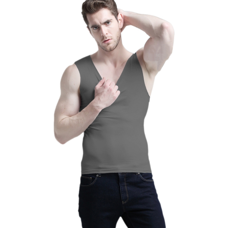 6 Colors Men Bodybuilding Vest Thin Tank Top Jersey Quick-dry Tights Tops Undershirt Male