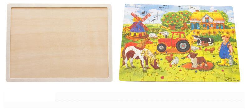 60 računala crtani drvene zagonetke / brand sastaviti drvene puzzle - Igre i zagonetke - Foto 3