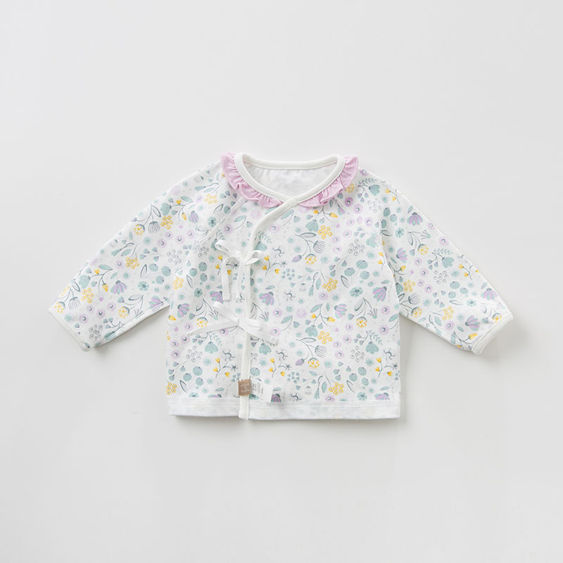 DBH10037 Dave Bella Spring Autumn Newborn Baby Girls Clothing Sets Infant Toddler Clothes Baby Cotton Sets 0-9M