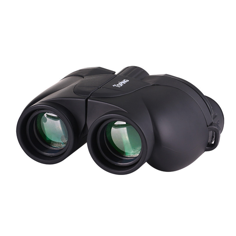 10x25 HD Zoom Optical Telescope Military Binoculars High power Binoculars for Hunting Camping Hiking Day Telescope Scope in Monocular Binoculars from Sports Entertainment