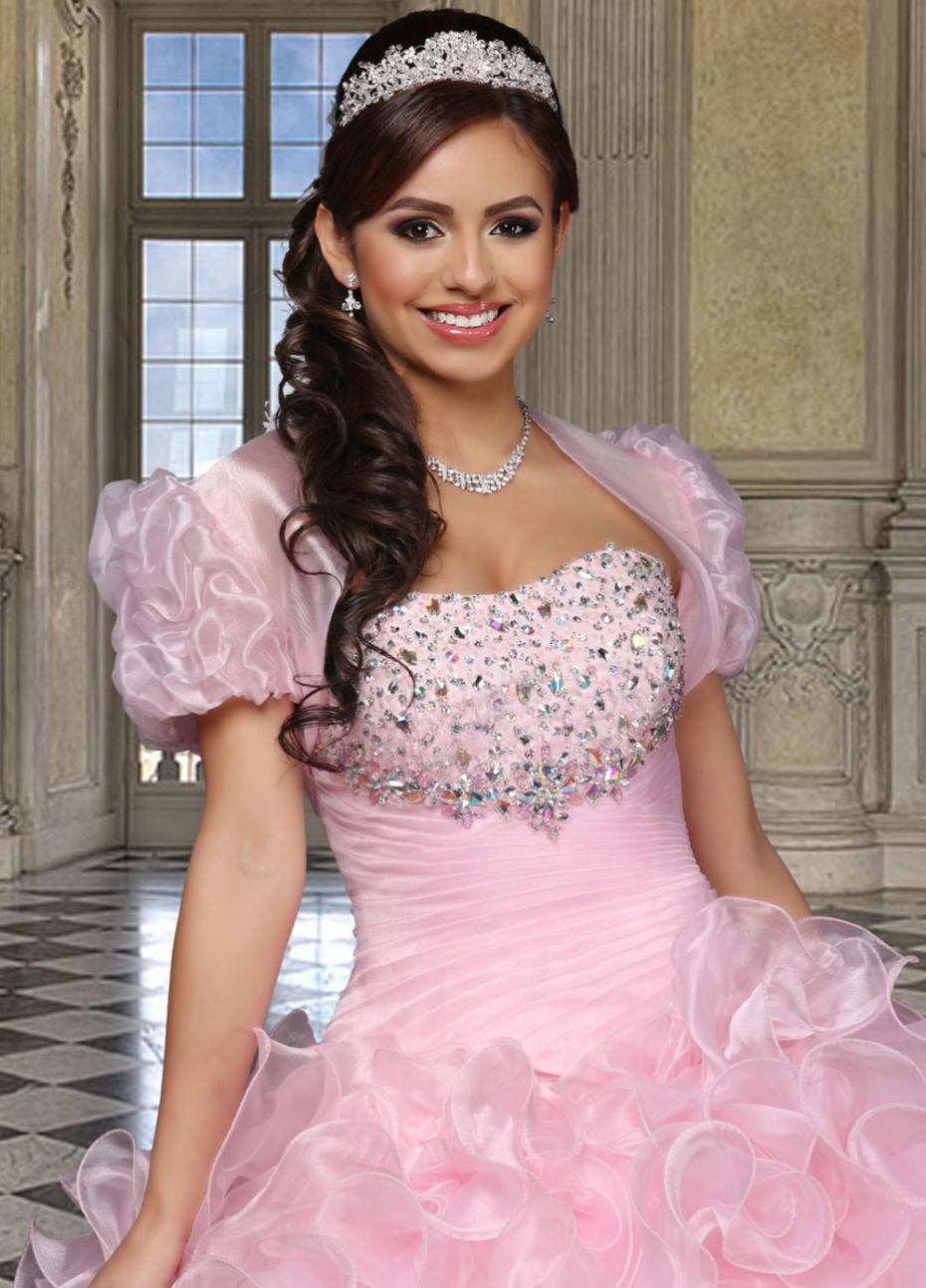 Novia De la princesa dulce 16 Vestidos rosados del vestido ...