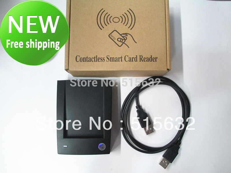New ID-10 125Khz EM4100 RFID Proximity ID Cards / Smart Card USB Reader new rs232 new security black usb rfid proximity sensor smart id card reader 125khz em