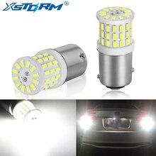 2 sztuk ceramiczne LED 1157 BAY15D P21/5W LED żarówki 1156 BA15S P21W R5W R10W światła samochodowe do jazdy dziennej DRL światło cofania 6000K biały 12V