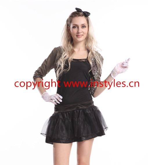 2015 neue art Frauen Damen 70 s 80 s Disco Kostüm Pop Outfits ...