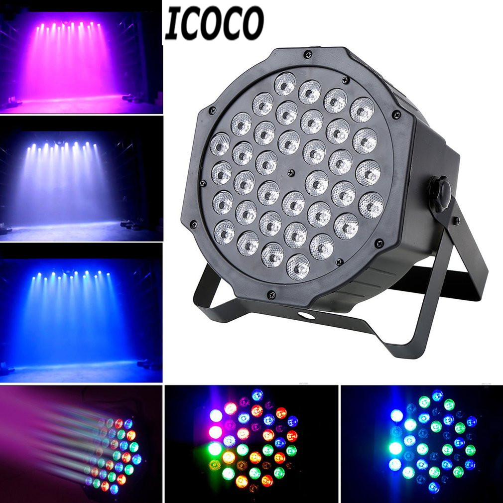 ICOCO 1pc Multi-function 36*1W LED Stage Light Plastic Shell with 4 Models for Party Night Club Pub Bar KTV Stage Ligting SaleICOCO 1pc Multi-function 36*1W LED Stage Light Plastic Shell with 4 Models for Party Night Club Pub Bar KTV Stage Ligting Sale