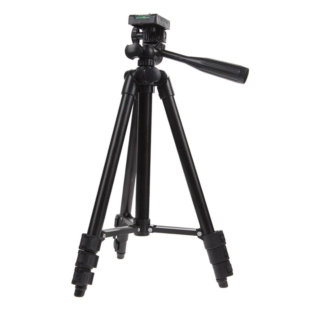 ALLOET Professional Travel Camera Tripod Unfolded(1020mm) With Tilt Pan Head Carry Bag For Digital DSLR Camera Camcorder Video benro s2 video head pan and tilt head for dslr video camera